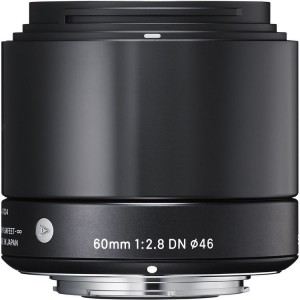 Sigma 60mm F/2.8 DN Art Black Micro 4/3