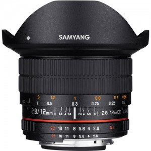 Samyang 12mm F/2.8 ED AS NCS Fisheye Nikon
