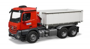 Bruder MB Arocs Truck with Roll-Off-Container (03622)