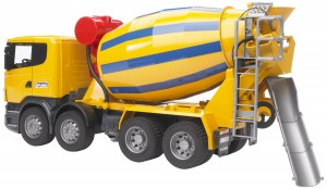 Bruder 3554 Scania R-Series Cement Mixer Truck (03554)