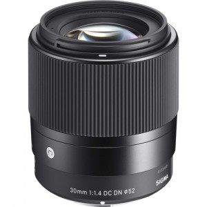 Sigma 30mm F/1.4 DC DN Contemporary Sony E-Mount