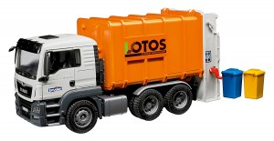 Bruder MAN TGS Rear Loading Garbage Truck 03762