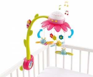 Smoby Cotoons Flower Mobile ASST (110110) Pink