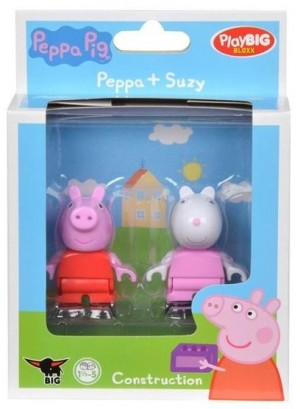 Big PlayBig Bloxx Peppa Pig Peppa + Suzy (800057111)