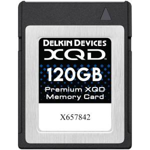 Delkin Premium XQD 120GB 2933X 440/400 MB/s (DDXQD-120GB)