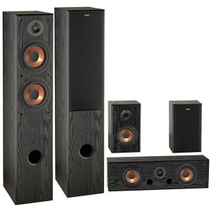 Eltax Exposure HCP Speakers Set 5.0 Veneer Black
