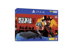Sony PlayStation 4 500GB Slim + Red Dead Redemption 2