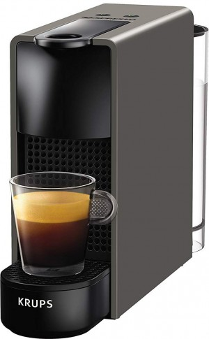 Krups XN110B Nespresso Essenza Mini Intense Grey