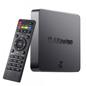 Alfawise A8 Pro Android 8.1 TV Box 2.4GHz/5GHz