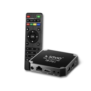 Savio 4K Android 7.1 Smart TV Box (TB-P01)
