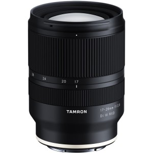Tamron 17-28mm F 2.8 Di III RXD for Sony E-mount (full-frame)