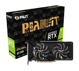 Palit GeForce RTX 2060 SUPER DUAL (NE6206S018P2-1160A)
