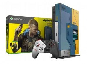 Microsoft Xbox One X Cyberpunk 2077 Limited Edition Bundle