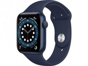 Apple Watch Series 6 44mm GPS Blue Aluminium Case with Sport Band Deep Navy M00J3EL
