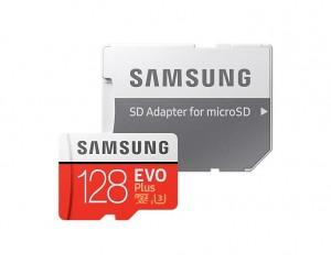 Samsung EVO+ 256GB microSDXC Card with Adapter (MB-MC256HA/EU)