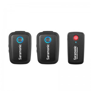 Saramonic Blink 500 B2 (TX+TX+RX) Wireless Microphone System Black