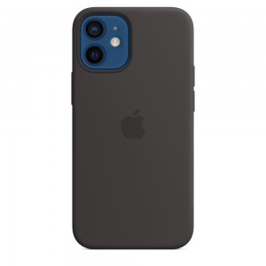Apple iPhone 12 Mini Silicone Case Black MHKX3