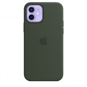Apple iPhone 12/12 Pro Silicone Case with MagSafe Cyprus Green MHL33ZM