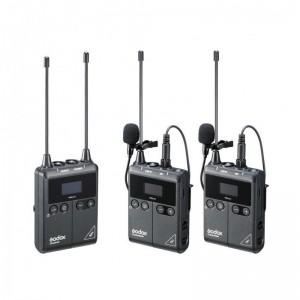 Godox WMicS2 Kit Wireless Lavalier Microphone System (Godox WMicS1 Kit 2)