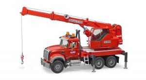 Bruder Mack Granite Crane Truck with Light & Sound Module (02826)