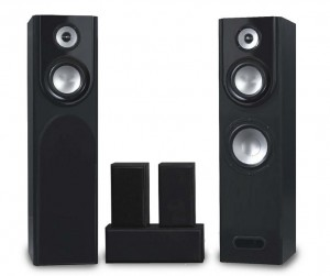 Eltax Utah HCP Speakers Set 5.0 Black