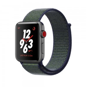 elefante Comprimido Querer  Apple Watch Nike+ GPS + Cellular 42mm Space Gray Aluminium Case with  Midnight Fog Nike Sport Loop MQMK2 | Online shop BM.lv