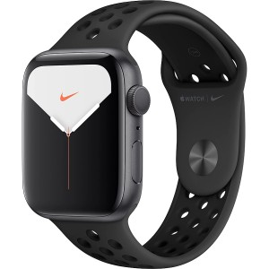 Apple Watch Series 5 Nike+ 44mm Space Gray Aluminum Case with Pure Anthracite/Black Nike Sport Band MX3W2
