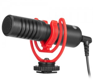 Boya BY-MM1+ Super-cardioid Condenser Shotgun Microphone