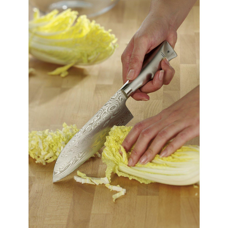 wmf santoku knife grand gourmet damasteel performance cut 32 cm