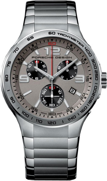 Porsche Design Flat Six Quartz Chronograph Mens Watch Model