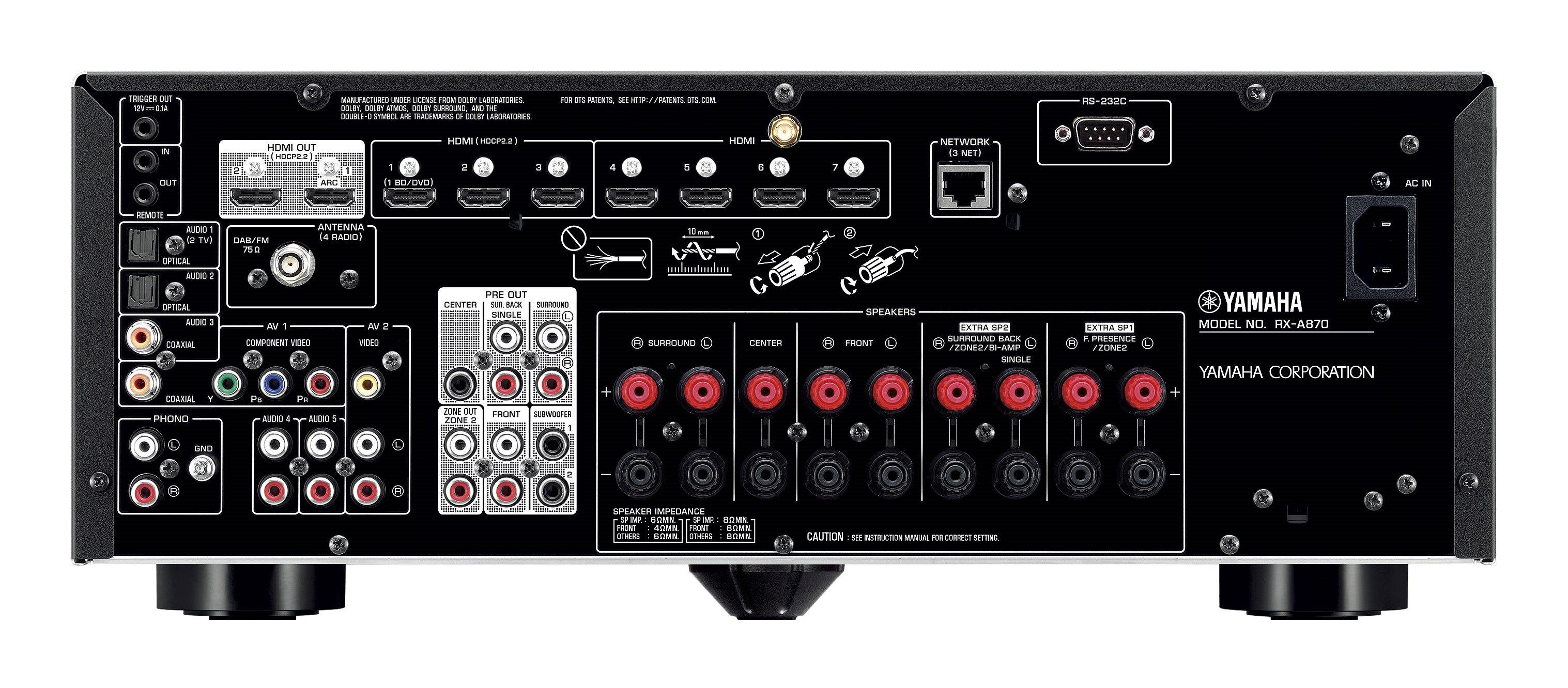 Yamaha Rx Vspecifications
