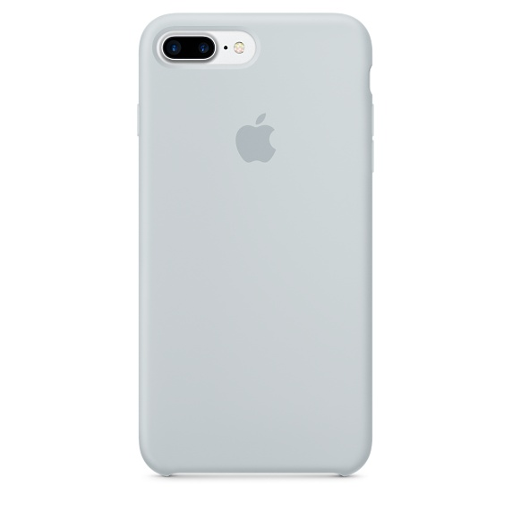 iphone 7 plus silicone case blue