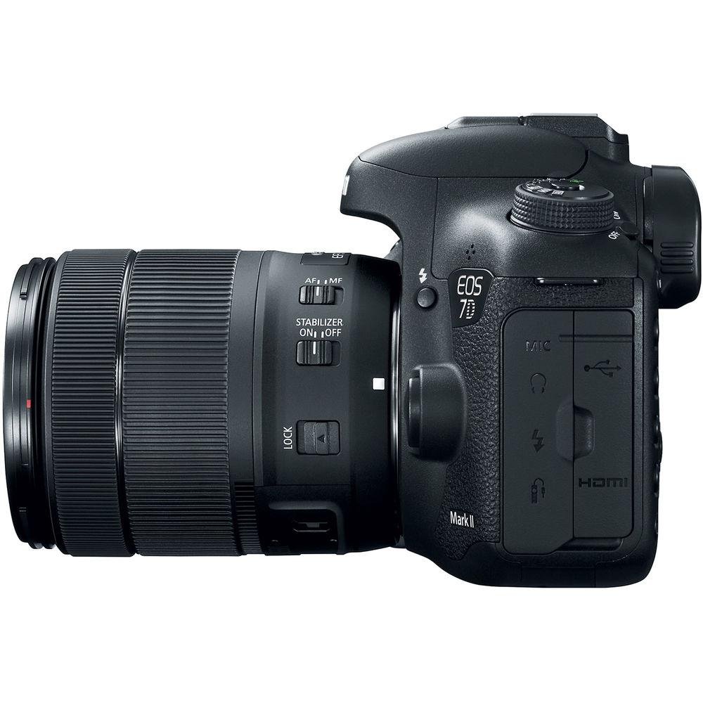 canon eos 7d mark ii kit 18 135mm is usm nano photo. Black Bedroom Furniture Sets. Home Design Ideas