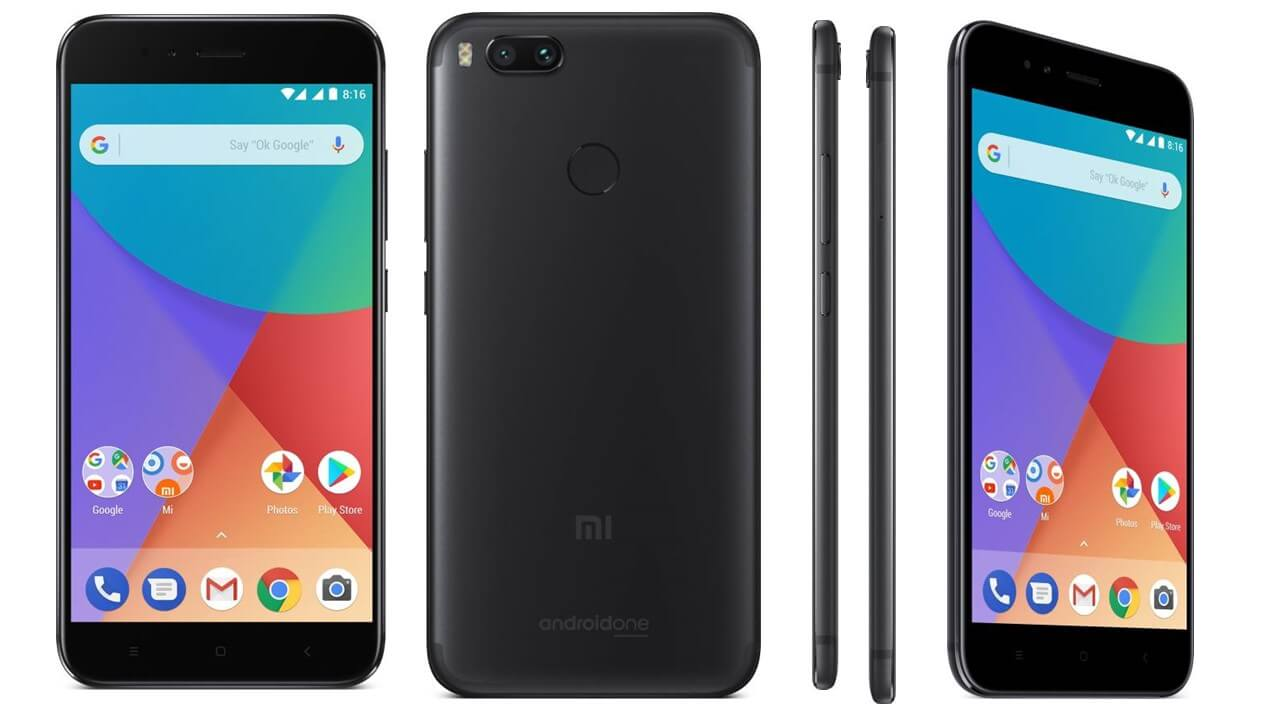 Xiaomi Mi A1 32gb Black Phones Mobile Phones Online