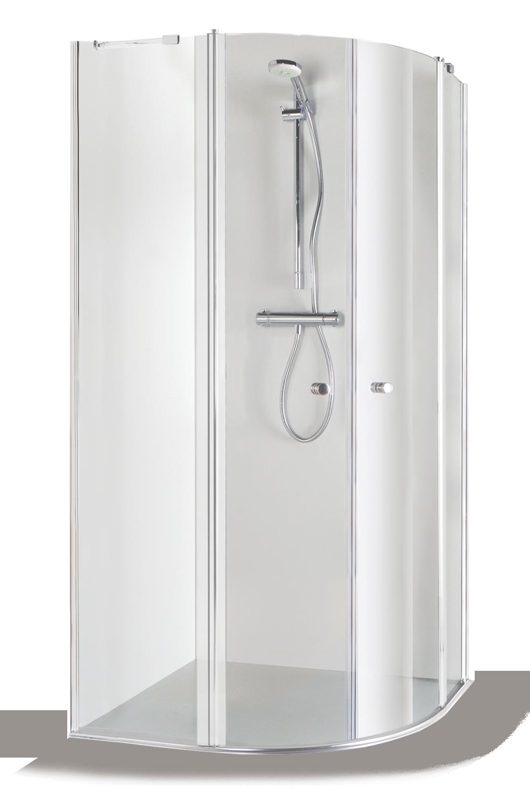 Baltijos Brasta SONATA Shower Enclosure 100x100 Transparent | Shower ...