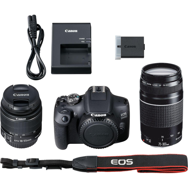 7d66d6d41df Canon EOS 2000D Double Kit 18-55mm IS II + 70-300mm III | Photo cameras |  Photo and Video equipment | Online shop BM.lv