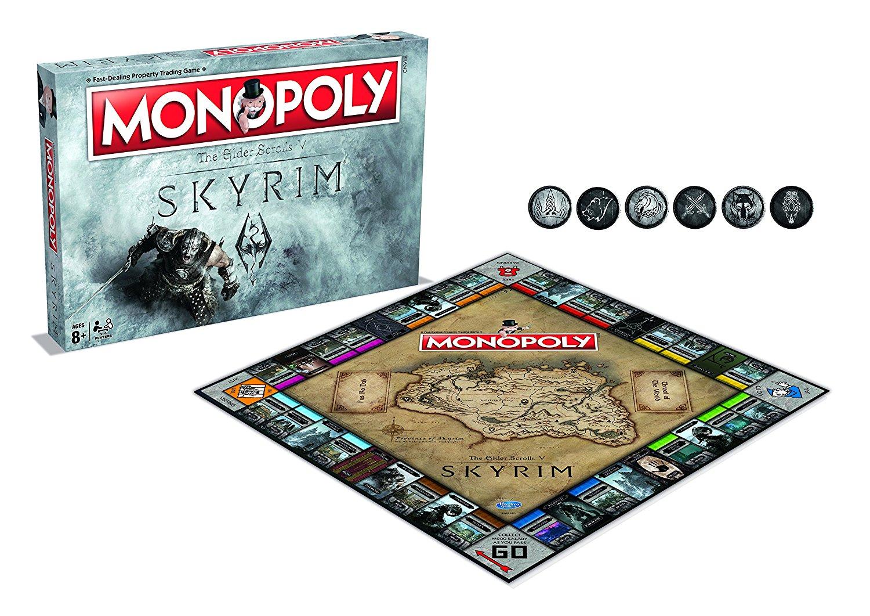 Hasbro Monopoly Elder Scrolls Skyrim (English Language